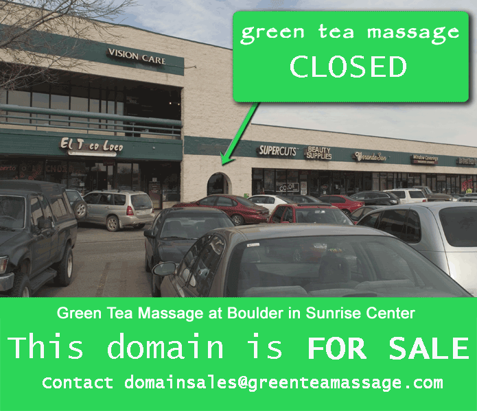 boulder massage therapy location